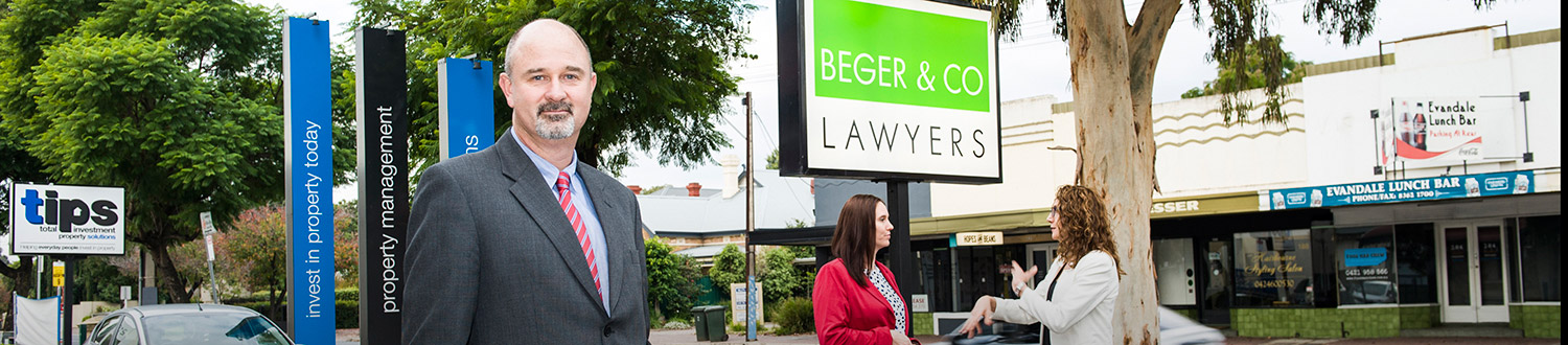 Adelaide Lawyers - Contact Beger & Co