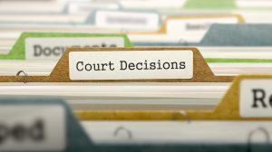 Divider Tab labelled 'Court Decisions'