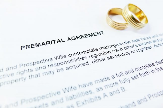 Binding Financial Agreements Between Spouses