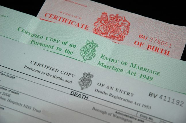 Incorrect Death Certificate Problematic for SA Probate